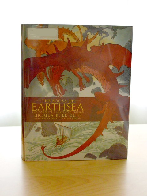 Current Reading The Books of Earthsea Complete Illustrated