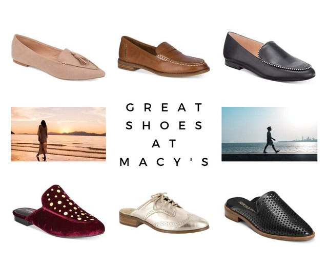 GREAT SHOES AT MACY's Tanvii.com