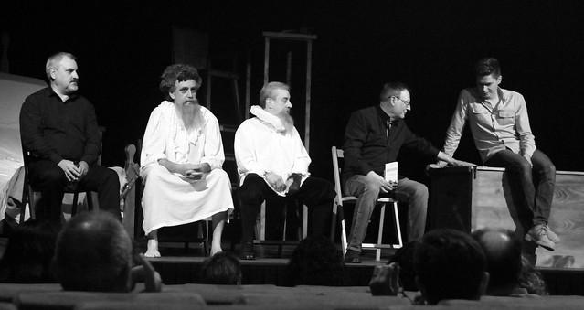 COLOQUIO TRAS LAS CONFESIONES DE DON QUIJOTE - TEATRO EL ALBÉITAR DE LA UNIVERSIDAD DE LEÓN 28.9.19