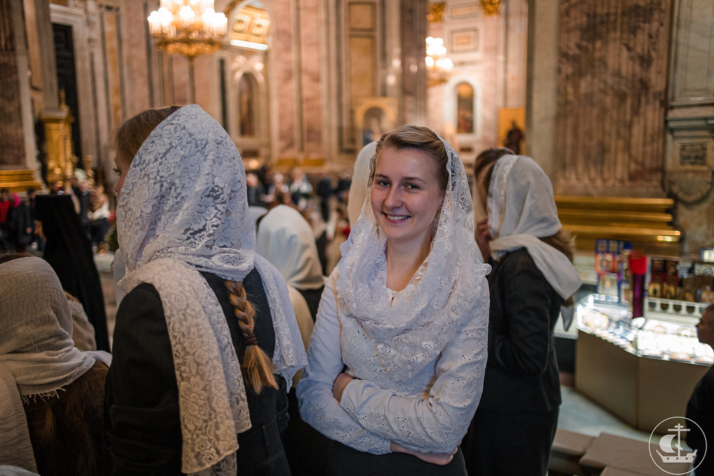 29 сентября 2019, Литургия в Исаакиевском соборе / 29 September 2019, Divine Liturgy in the Saint Isaac's Cathedral