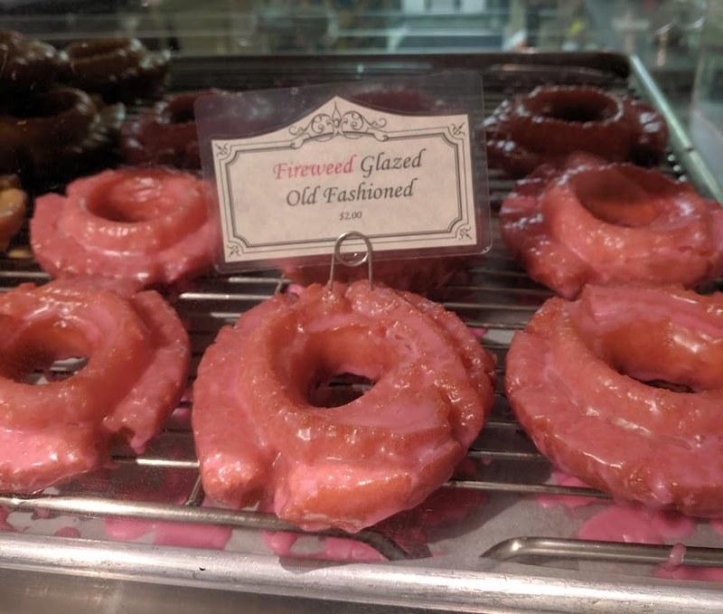 Fireweed doughnut
