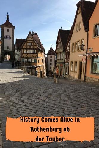 History Comes Alive in Rothenburg ob der Tauber