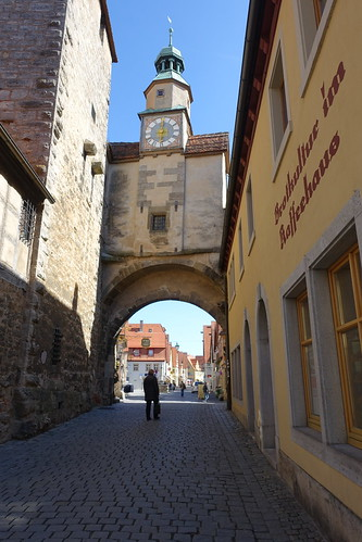 Rothenburg Clocktower and Archway. From History Comes Alive in Rothenburg ob der Tauber