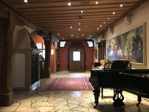 Main floor of hotel BurgGartenpalais . From History Comes Alive in Rothenburg ob der Tauber