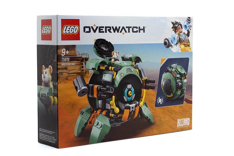 LEGO Overwatch Wrecking Ball (75976) - 05