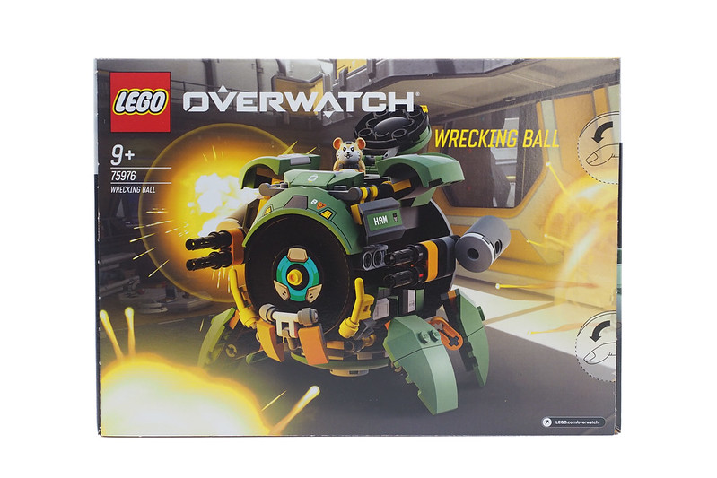 LEGO Overwatch Wrecking Ball (75976) - 02
