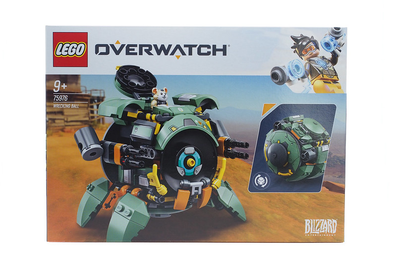 LEGO Overwatch Wrecking Ball (75976) - 01