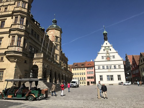 Rothenburg Town Square. From History Comes Alive in Rothenburg ob der Tauber