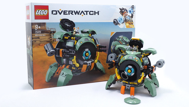 LEGO Overwatch Wrecking Ball (75976) - 07