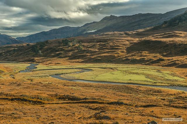 Uisge Misgeach River, Upper Strathfarrar, North-West Highlands.
