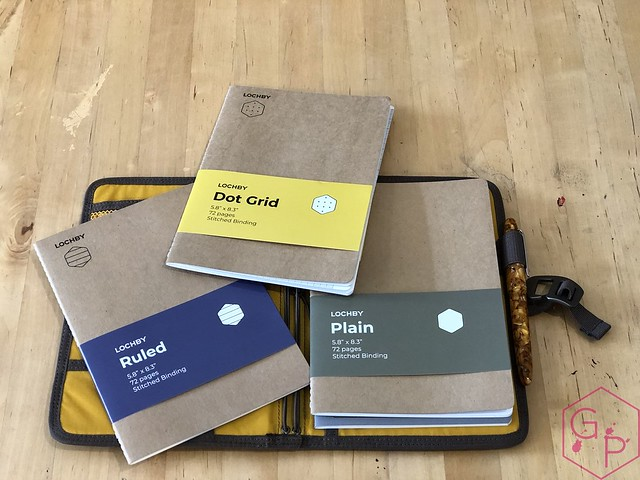Lochby Field Journal with Tomoe River Notebooks and EDC Roll 7_RWM