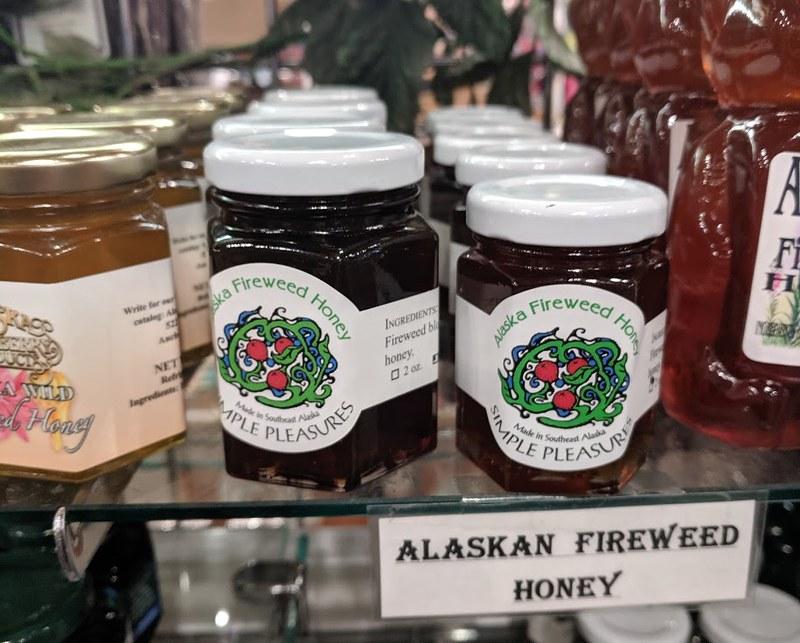 Alaskan fireweed honey