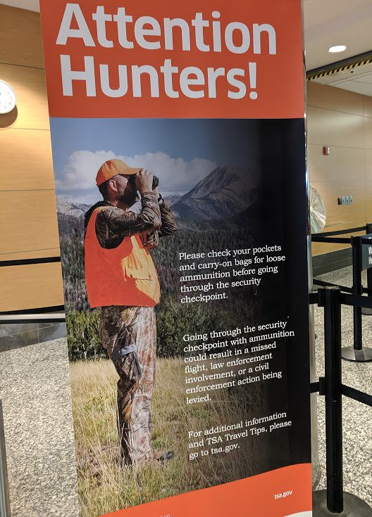 Attention Hunters at airport