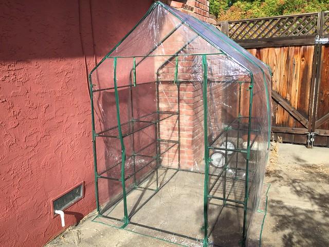 Built a greenhouse