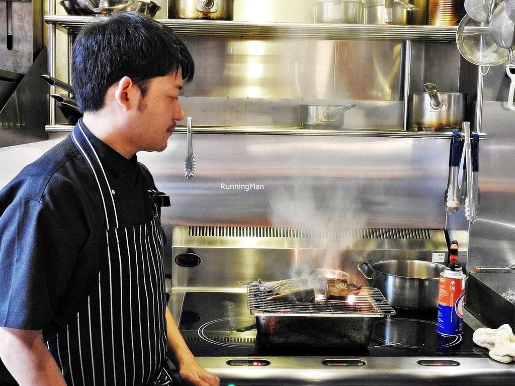Chef Tomine Nobuaki