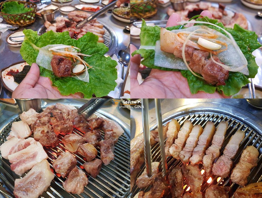 濟州島必吃黑豬肉烤肉 常客GD也愛吃돈사돈(제주 흑돼지 맛집 )附首爾、濟州島各分店地址 @Gina Lin