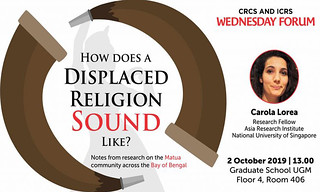 How does a displaced religion sound like?