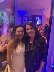 Sandra Santiago at the Emmys Nominee Reception Event & Elena Campbell