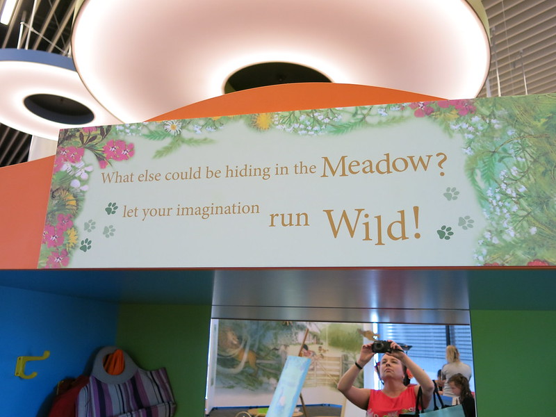 The Lion in the Meadow activity zone