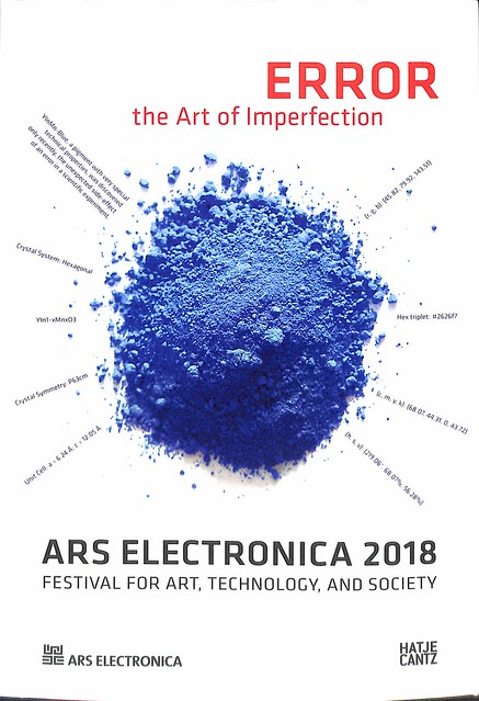 Ars Electronica 2018 : ERROR — The Art of Imperfection