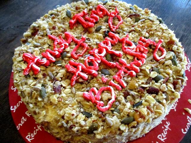Secret Recipe's high fibre cheese cake