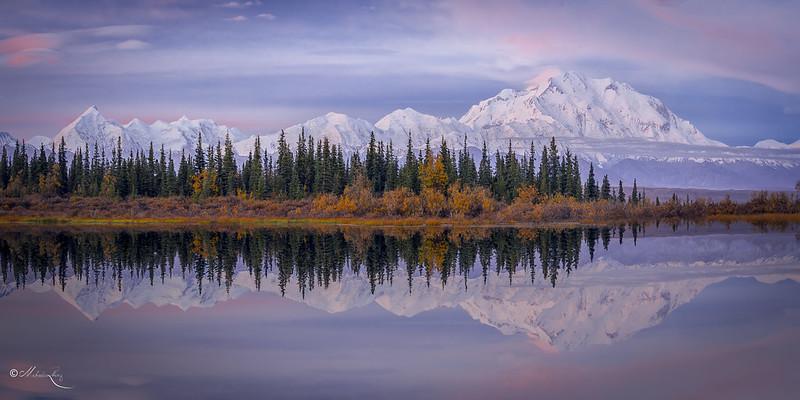 Alaska Range at Sunrise
