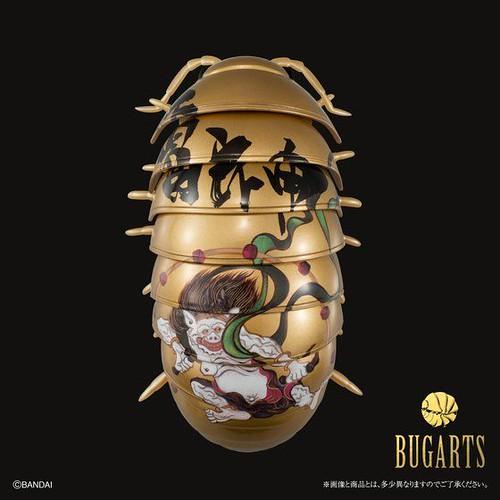 充滿藝術力的團子蟲新作!BANDAI 全新系列《BUGARTS》風神雷神図 だんごむし風神 / 雷神