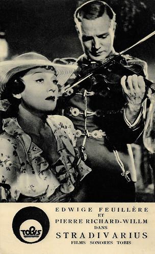 Edwige Feuillère and Pierre Richard-Willm in Stradivarius (1935)
