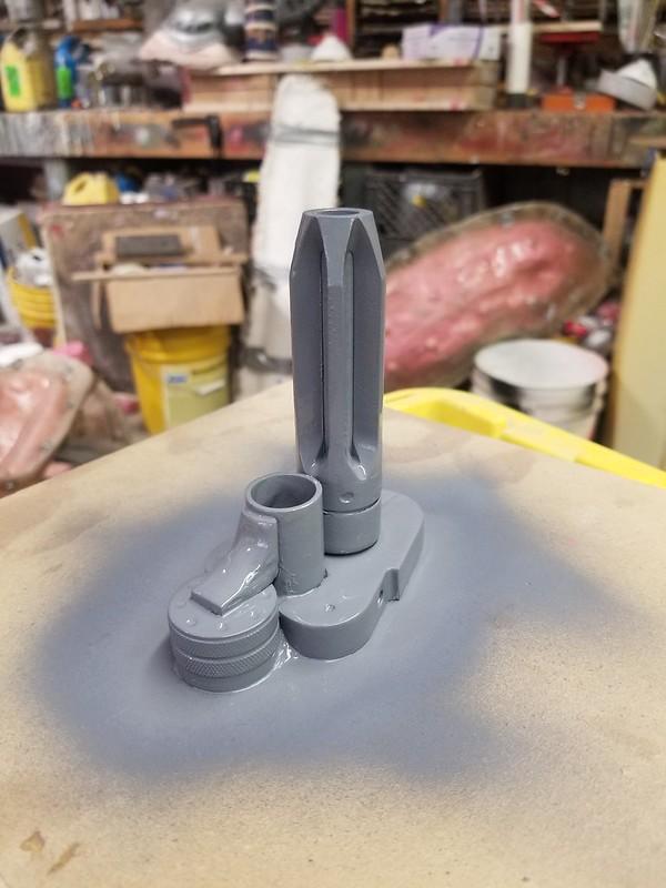 Morita Muzzle Prototype Upright