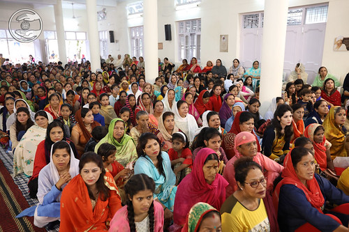 A view of congregation