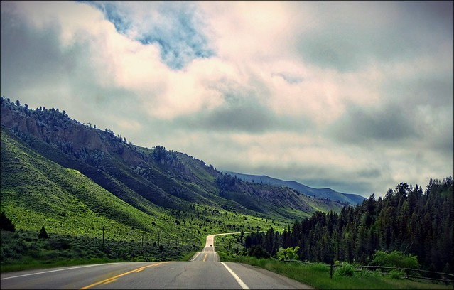 On the Road - Wyoming, USA [explored]