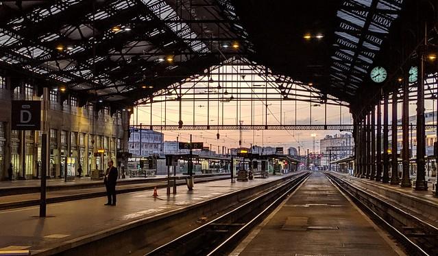 Gare de Lyon Paris France 30th September 2019