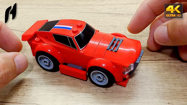 How to Build Lego Muscle Car (MOC - 4K)