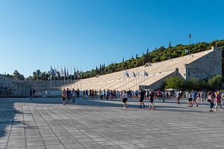 Antikes Marmor-Stadion Athen