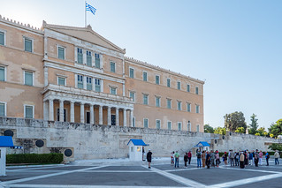 Parlamentsgebäude Athen
