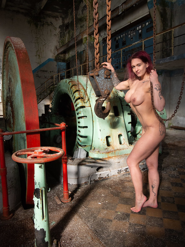 Karina in old power plant