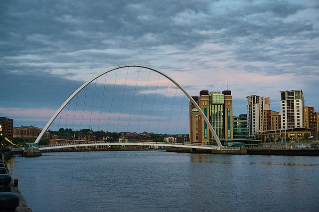 Gateshead Millenium Bridge.