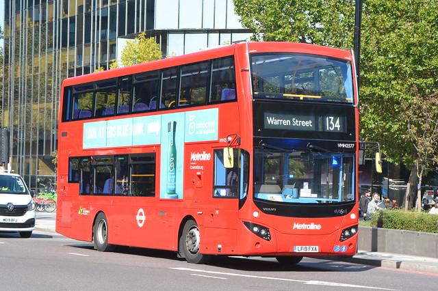LF19 FXA (VMH2577) Metroline London