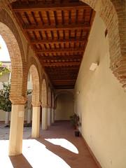 patio del Real Convento de San Francisco e Iglesia de Santiago Velez Malaga Málaga 04