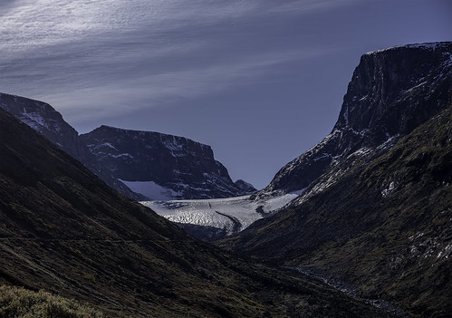 glacier mountain snow ice nature landscape sky clouds lom bøverdalen oppland norway flickr