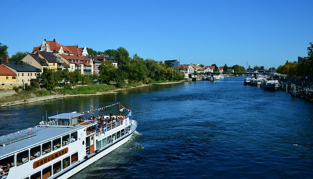 Regensburg - Blue Danube