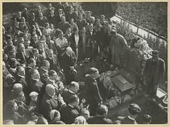 Traslado al Cementerio de Montjuïc de los restos de Francesc Ferrer i Guàrdia a la tumba cedida por Ajuntament de Barcelona_1932