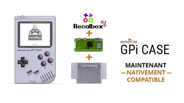 Recalbox 6.1 - GPi Case 6.1