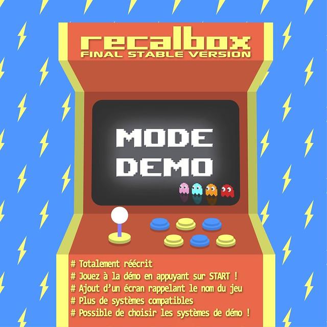Recalbox 6.1 - Nouveau Mode Démo