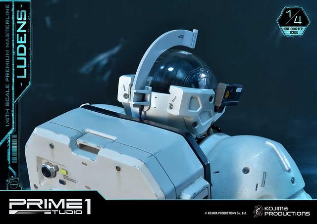隨著《死亡擱淺》現象再登場!Prime 1 Studio Premium Masterline 小島製作形象角色『Ludens(ルーデンス)』 1/4比例雕像