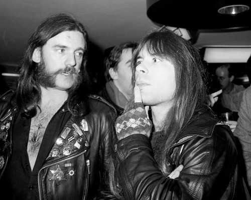 Lemmy and Bruce