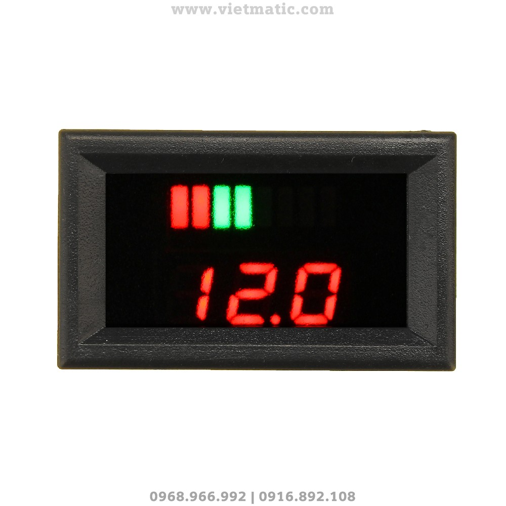 Đồng hồ đo dung lượng bình ắc quy tự động
