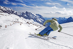 Soutěž Poznej a vyhraj: lyžování pod střechou Německa