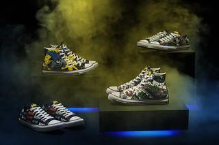 慶祝蝙蝠俠80週年!CONVERSE x DC BATMAN  聯名紀念鞋款 細節設計誠意滿滿~10月限定登場!
