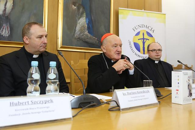 Fundacja Dzieła Nowego Tysiąclecia, Konferencja Prasowa - 30 IX 2019 r.